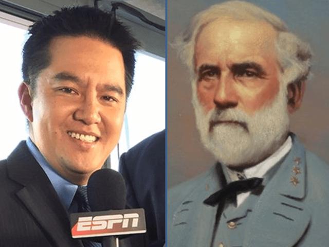 ESPN's Robert Lee and General Robert E Lee