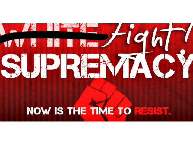 Fight White Supremacy Poster