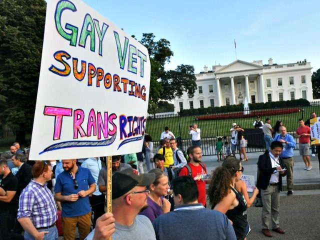 Gay Vet Trans Rights Paul J. RichardsAFPGetty Images