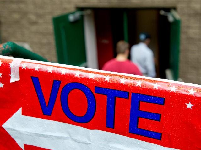 GeorgiaSpecialElection-VoteSign-AP