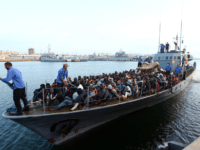 Libyan coastguard migrants