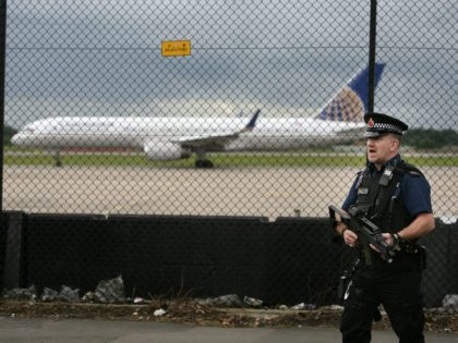 Airport terror threat uk
