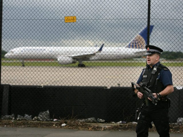 Airport terror threat uk