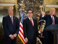 Steve Mnuchin Under Pressure to Quit Trump Administration
