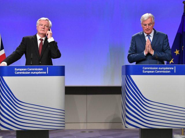 Gentlemens Agreement They Shook Hands Eu And Brexit Secretary