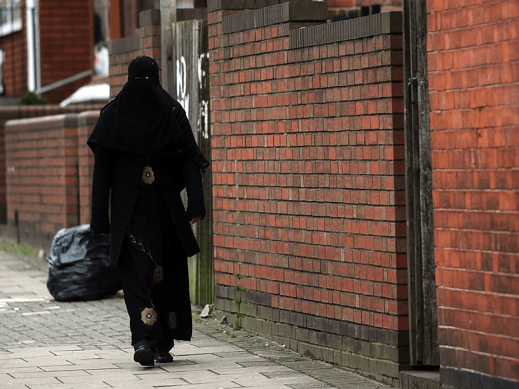 no go zones 39 no whites allowed after 8 pm 39 grafitti appears in birmingham england. Black Bedroom Furniture Sets. Home Design Ideas