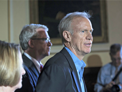 Gov. Rauner ZBIGNIEW BZDAKASSOCIATED PRESS .