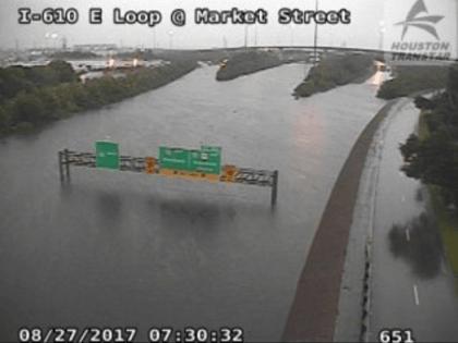 Houston I-10 flooded - Transtar