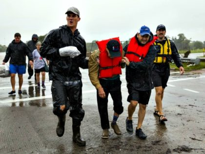 Hurricane Victims, Responders Erich Schlegel Getty