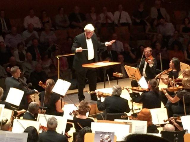 Dennis Prager conducts (Joel Pollak / Breitbart News)