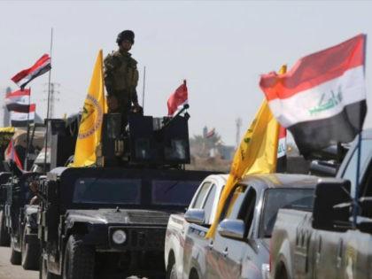 Iraqi paramilitary units mobilize in Nineveh Province, northern Iraq. Photo: AP