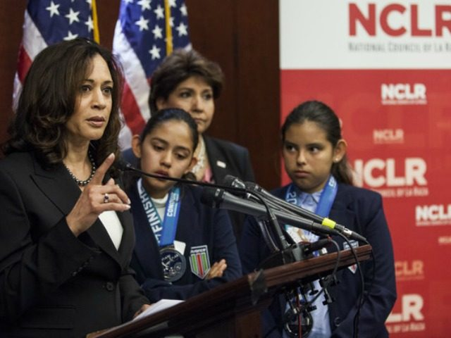Kamala Harris DACA La Raza Getty