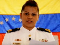 "Lt. Evelyn Gabriela Andrade López of the Venezuelan navy came out against the Maduro government, noting that she had joined the military uprising — ""Operation David"" — led by Capt. Juan Caguaripano."