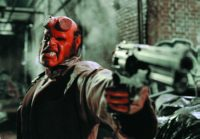 Ron Perlman starred as Hellboy in the original 2004 film and its 2008 sequel. Actor David Harbour takes on the role for the new film, due out in 2018. (Columbia Pictures)