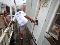 Man Kicks Door, Harver Getty