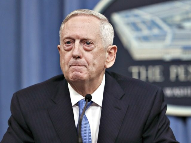 Mattis says U.S.  wants diplomatic solution for NK