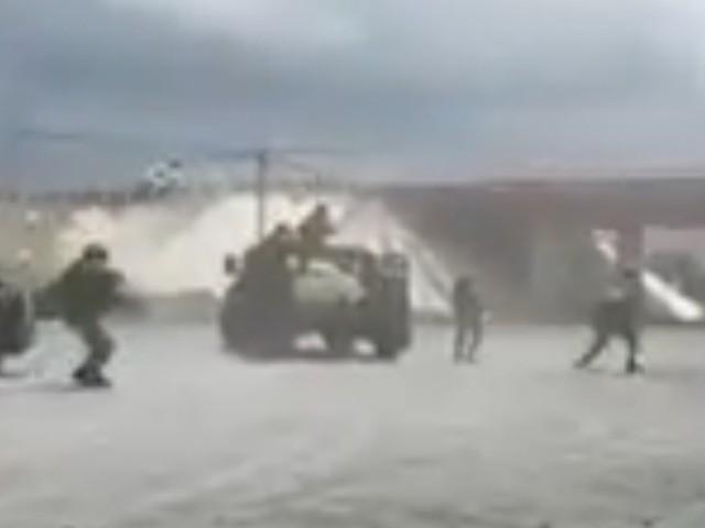 WATCH: Mexican Military Engages in Cartel Gun Battle near Texas Border