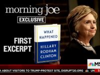 Clinton Book Excerpt: I Wonder If I Should Have Called Trump a 'Creep' During Debate