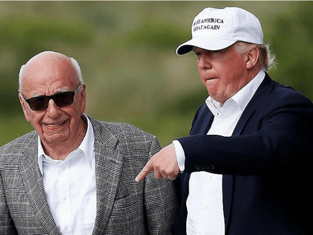 Murdoch, Trump, golf Reuters