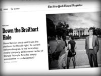 NYT Magazine: Breitbart News Has a 'Record of Promoting Women and Minorities'