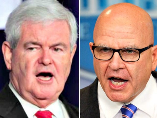 Newt_Gingrich and McMaster