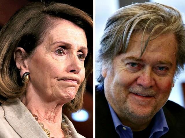 Fire Bannon 3.0: Pelosi Calls for Trump to Ax Chief Strategist - Breitbart