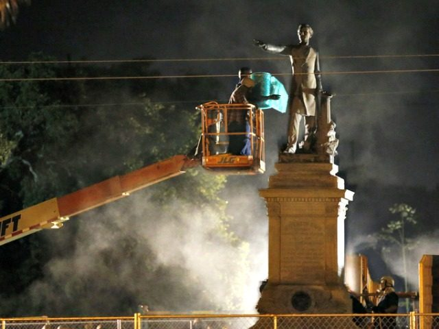Removal Statue WWL TV