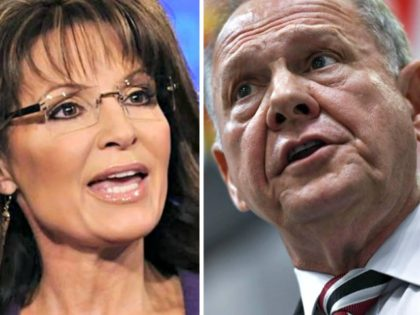 Exclusive — Sarah Palin: We Can Win War Against Political Class with 'Happy Warriors' like Judge Roy Moore
