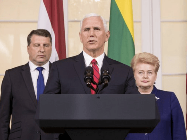 Let's get you into NATO — Pence to Georgia