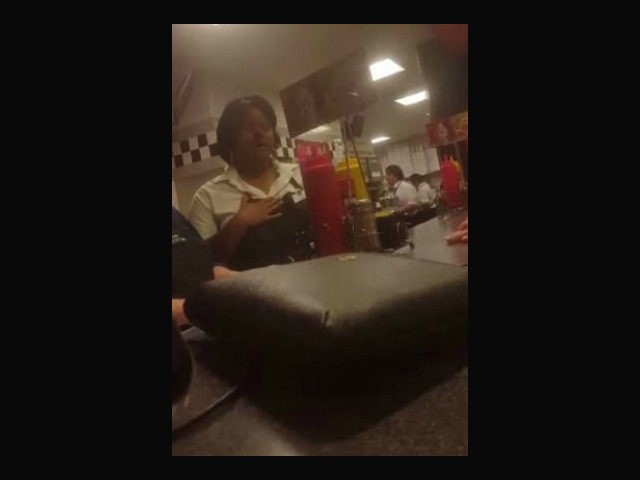 Courtney Parks, a North Carolina mother, tracked down the person who allegedly charged $600 to her debit card and confronted her at a Steak n' Shake restaurant, according to a Facebook video of the incident posted Thursday.
