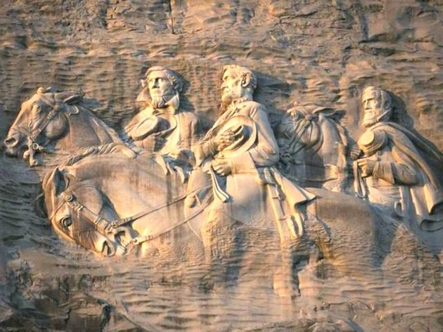 KKK's request to burn cross on Stone Mountain denied