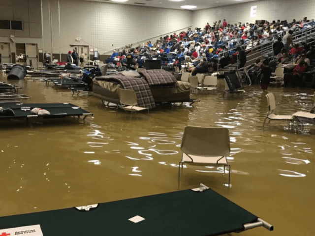 Evacuated Harvey Victims Along Texas Coast Re-Evacuated as Shelter Floods