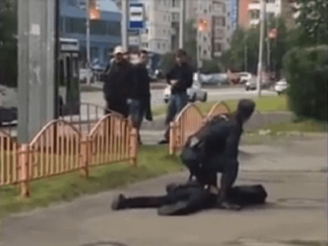 Russian Federation stabbing: Eight hurt as knifeman attacks people in street