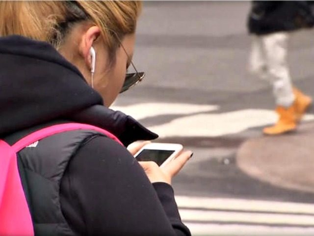 Texting while Walking CBS