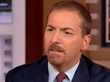 Chuck Todd Decries Sean Hannity as 'Unprofessional' for Noting Wife's Association with Democrats