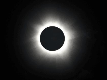 Total solar eclipse (Greg Wood / AFP / Getty)