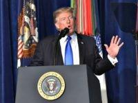 Trump Afghanistan Speech NICHOLAS KAMMAFPGetty Images