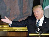 Trump Gesturing Getty