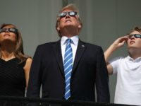 Goldman Sachs CEO Blankfein Throws Shade at Trump During Solar Eclipse