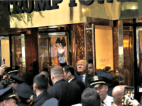 Trump at Trump Tower MIKE SEGAR Reuters