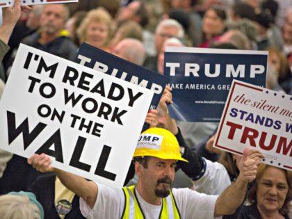 Trump, the Wall Aaron P. BernsteinGetty Images