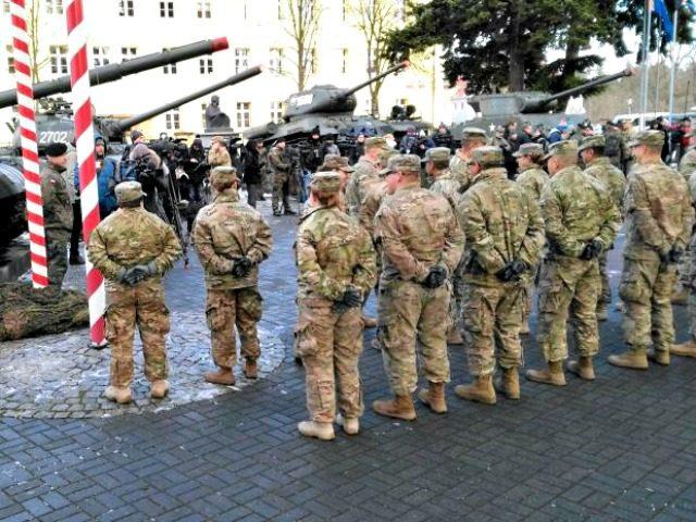U.S. soldiers in poland Zbigniew JanickiAgencja GazetaReuters