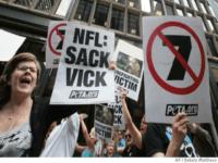 Vick Protest