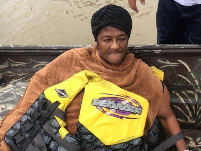Victim rescued - Wilma Ellis - Cajun Navy
