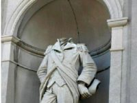 William Crawford Statue Beheaded