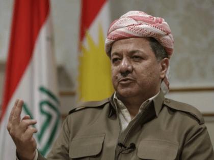 Kurdish president Massoud Barzani