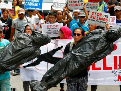 Duterte protesters