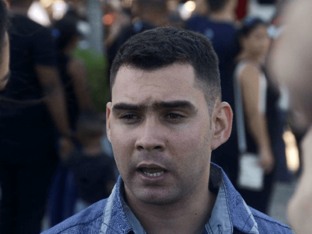Elian Gonzalez, shown here last year at events marking the death of former revolutionary leader Fidel Castro, hopes to reconcile with his Miami relatives and to visit the US one day. He was at the center of a custody battle that made international headlines