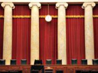 empty judicial bench