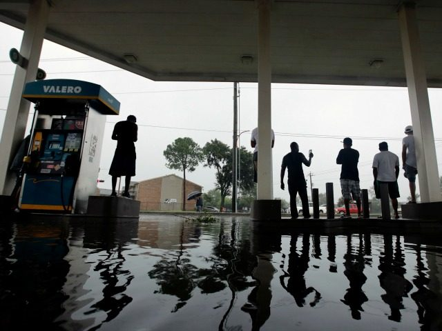 Harvey causes gas prices to surge